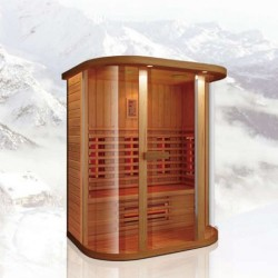 Инфракрасная сауна 04R-JK71 (150х100х198 см)