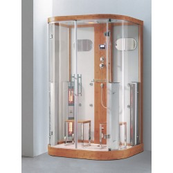 Душевая кабина 015К (145х90х215 см)